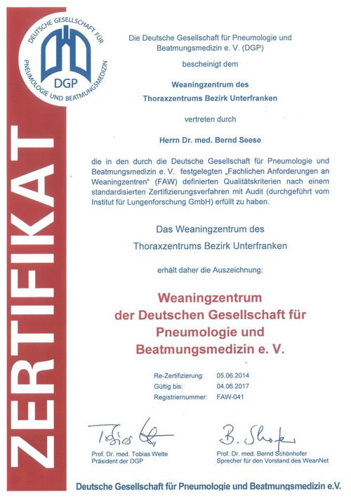 Zertifikat DGP 2014-2017